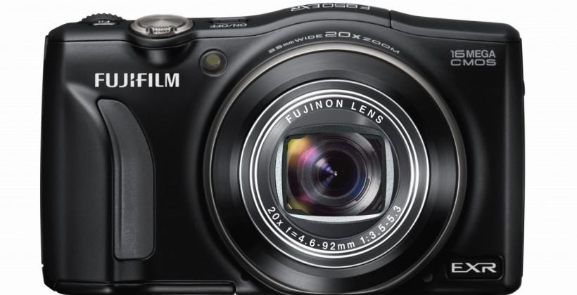 Fujifilm unveils F850EXR and F900EXR ultra-zoom compact cameras