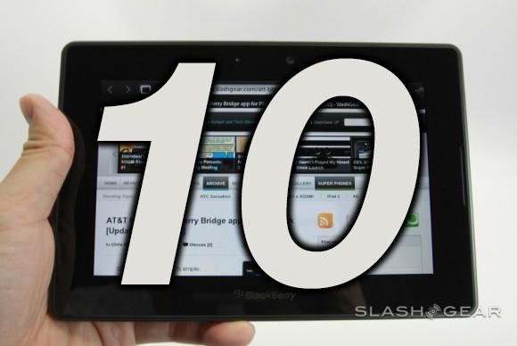 BlackBerry 10 tablet: three insane steps for success