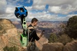 Google Maps Street View ads panoramic imagery from Grand Canyon