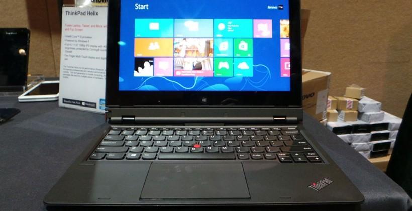 Lenovo ThinkPad Helix hands-on: Rip and Flip
