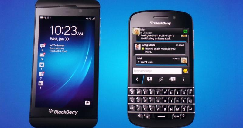 BlackBerry Z10 for Verizon coming in March for $199