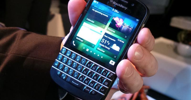 BlackBerry Q10 hands-on