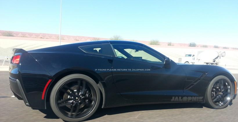 2014 Corvette shows up in the wild