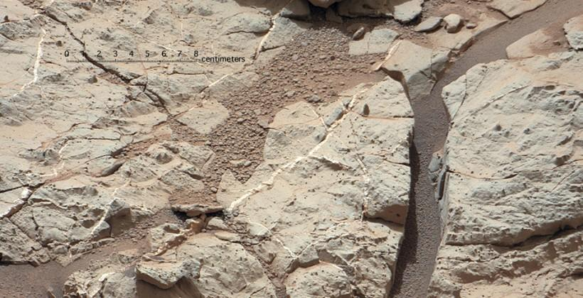 Curiosity's first rock sample target may have been found