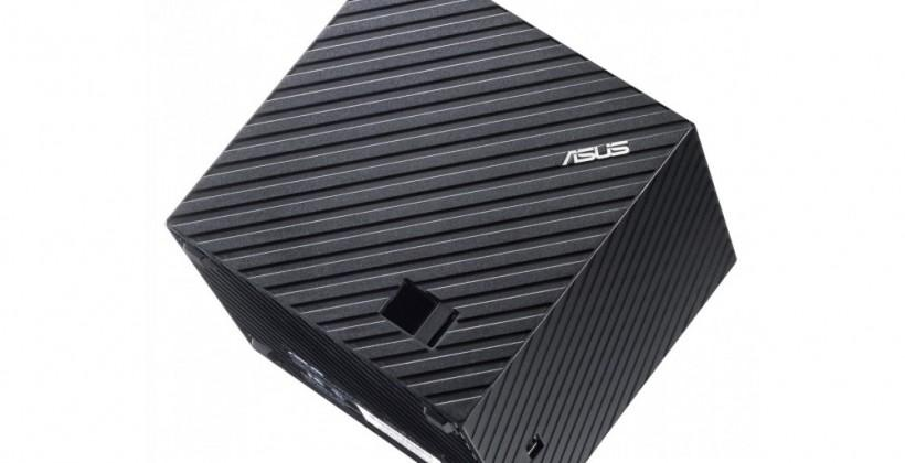 ASUS Qube Google TV box official: It's hip to be square