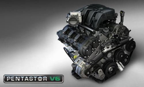 Chrysler talks about its new Pentastar V6 workhorse engine