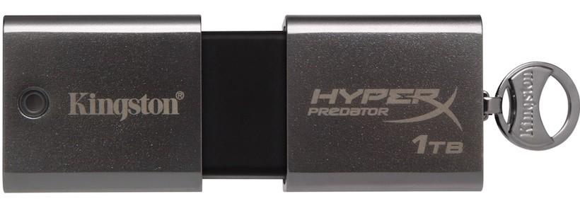 Kingston announces HyperX Predator 1TB USB 3.0 flash drive