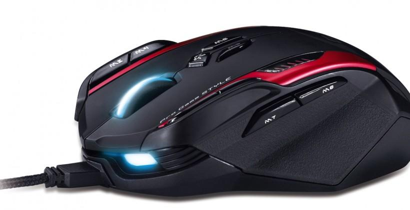 Genius Gila gaming mouse boasts buttons galore and adjustable heft