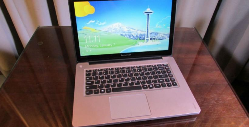 Lenovo IdeaPad U310 Touch hands-on