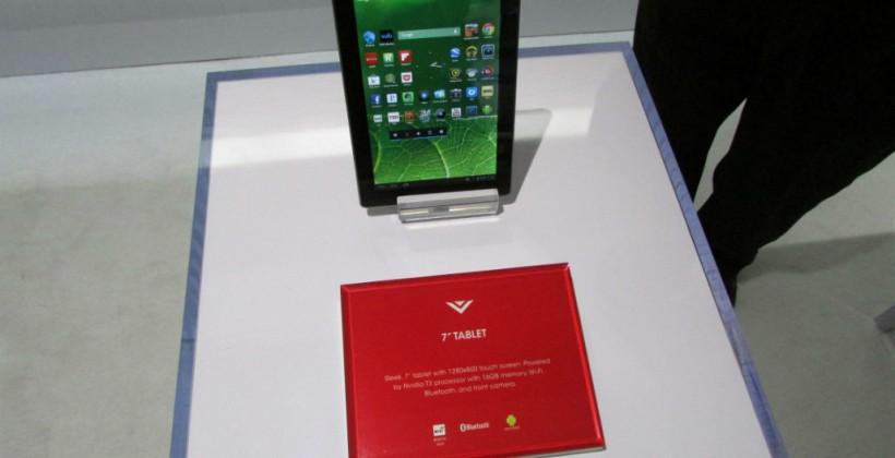 Vizio 10-inch and 7-inch tablet hands-on