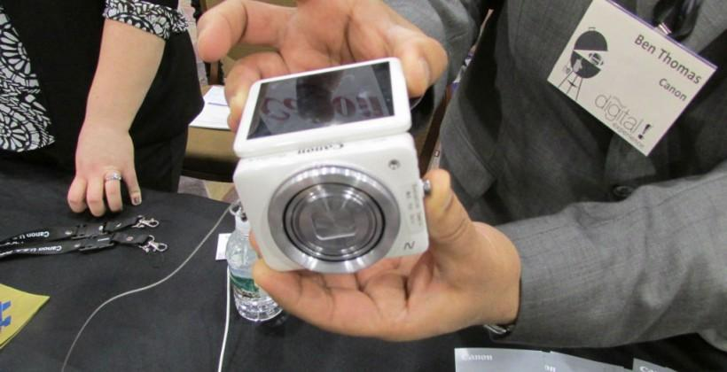 Canon PowerShot N hands-on
