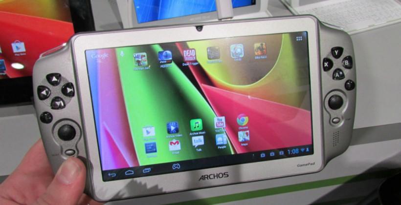 Archos GamePad hands-on