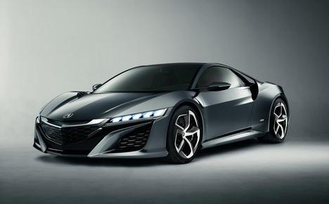 2015 Acura NSX concept revealed at NAIAS 2013