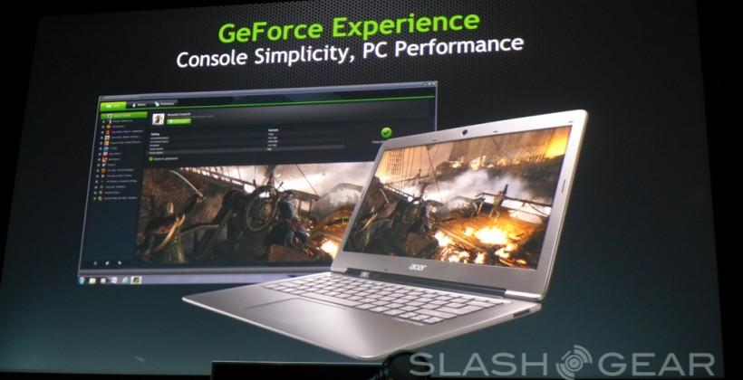 NVIDIA GeForce Experience revealed for universal instant game optimization