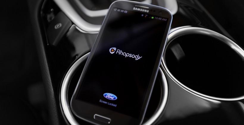 Rhapsody comes to Ford and Lincoln vehicles through SYNC AppLink