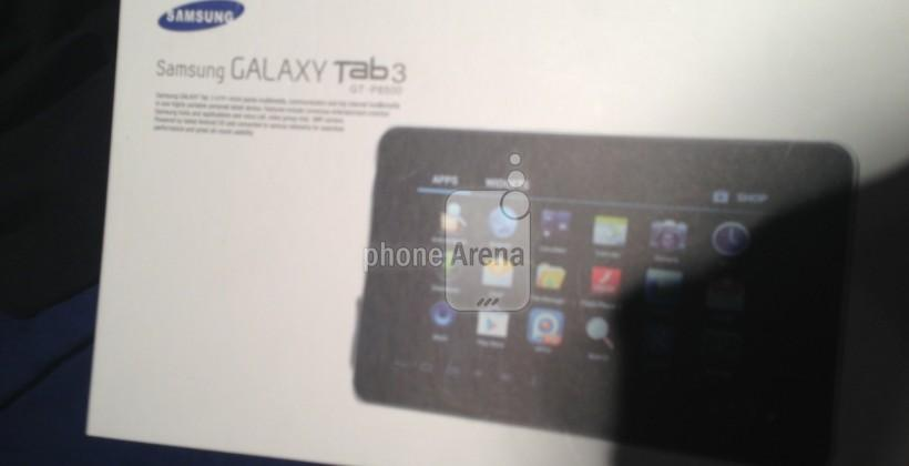 Samsung Galaxy Tab 3 images leak before MWC reveal