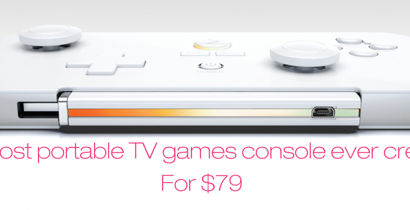 GameStick portable gaming console takes on OUYA