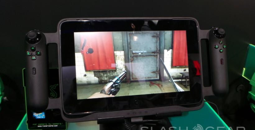 Razer Edge (Project Fiona) gaming tablet Hands-on