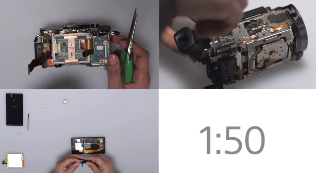Sony handcrafts new CES products in five-minute video