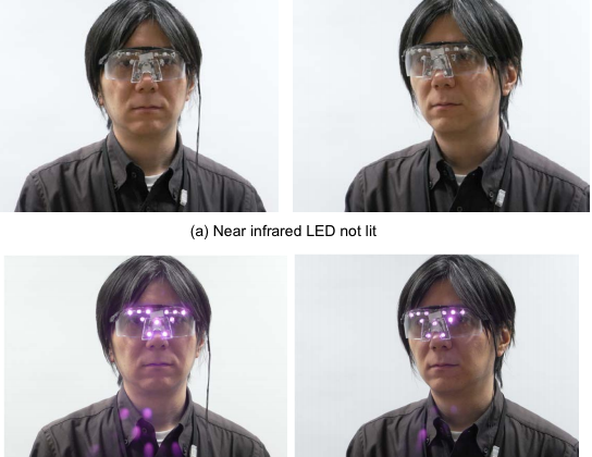 New prototype glasses protect you from facial recognition scanners