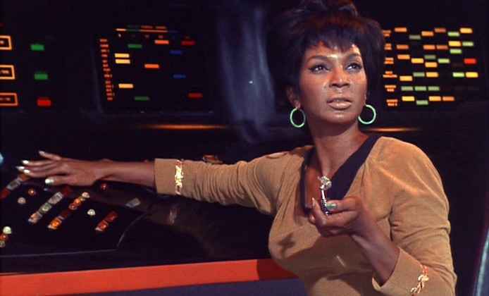 Uhura recounts her epic Star Trek talk with MLK Jr for Neil deGrasse Tyson