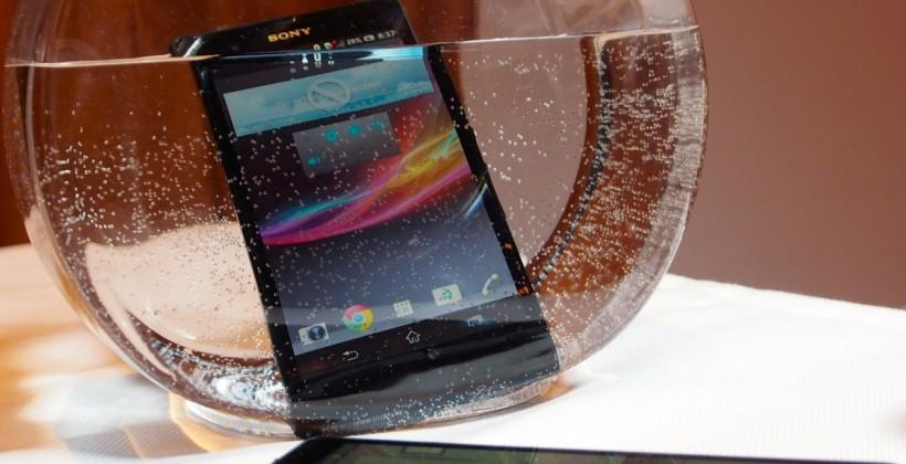 Sony Xperia Z: Hands-on with the Waterproof 1080p powerhouse