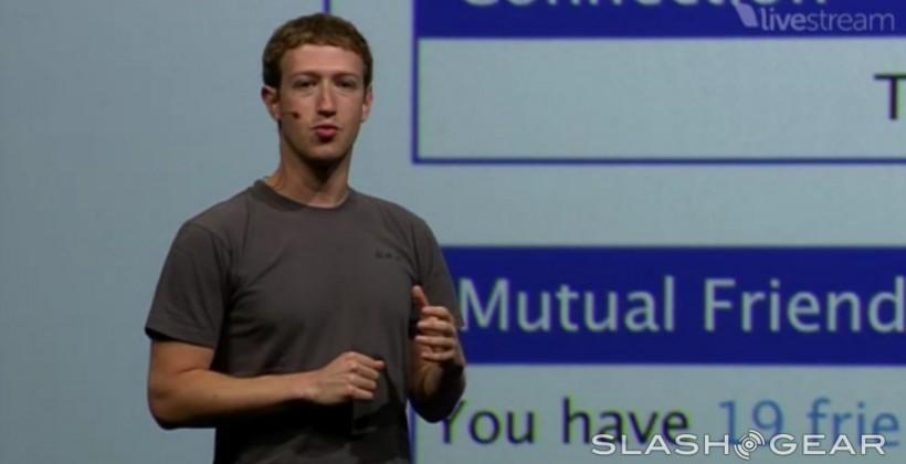 Zuckerberg describes difference between Graph Search and Web Search