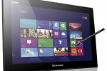 Lenovo pulls the veil off new all-in-one PCs, mobile touch screen companion