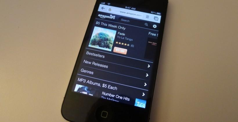 Amazon MP3 store now available on iPhone and iPod Touch