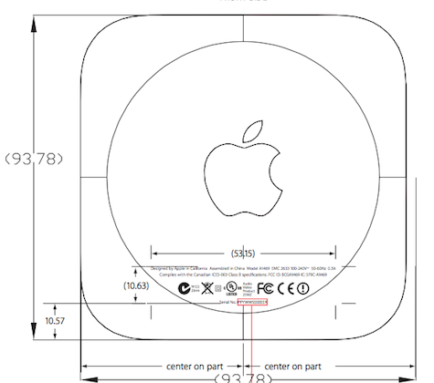 Apple TV shows up at the FCC as the smaller model A1469