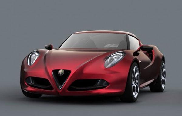 Alfa Romeo 4C coming to the US next year