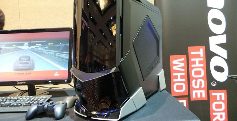 Lenovo Erazer X700 PC hands-on: beastly gaming in a sharp tower