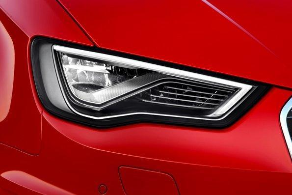 Audi announces Matrix LED headlights that utilize a camera, sensors, and GPS
