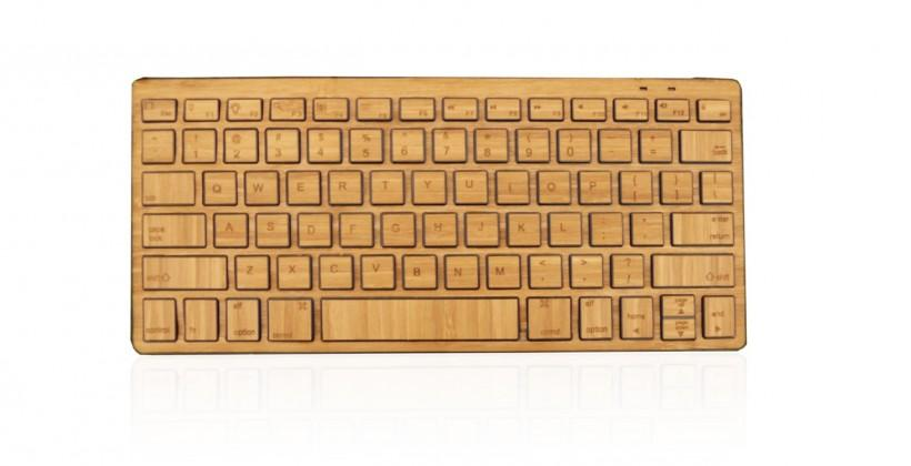 Impecca launches Bluetooth keyboard made of bamboo