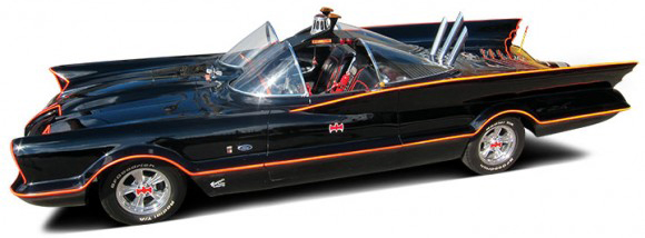 Original 1966 Batmobile auctions for $4.2 million