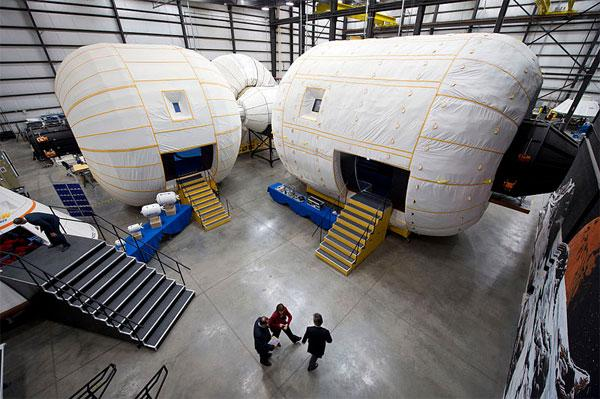 NASA grants $17.8 million contract for inflatable space station module