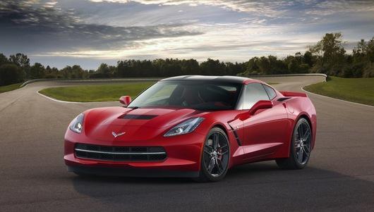 Chevrolet's first 2014 Corvette Stringray sold at auction for $1.1 million