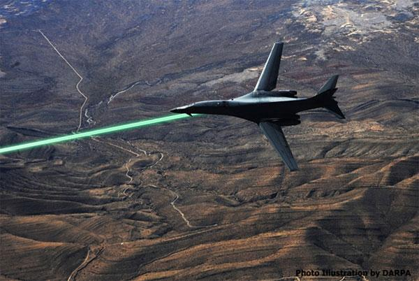 DARPA plans to put laser turrets on fighter jets in 2014