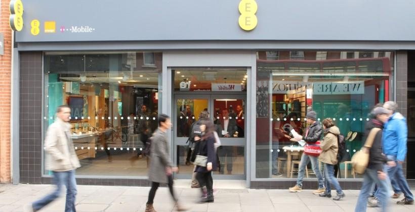 EE paring back store saturation: 78 locations to close
