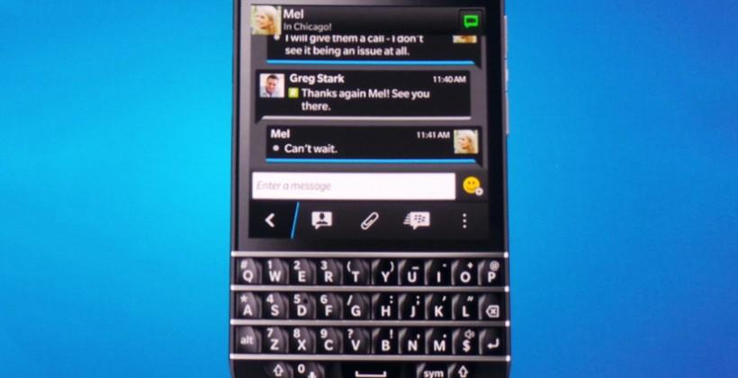 BlackBerry Q10 official as QWERTY touchscreen hero