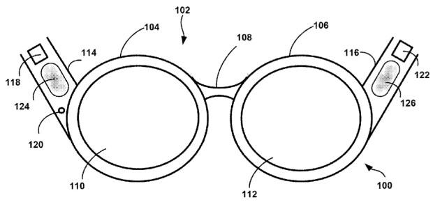 Google Glass bone-conduction increasingly possible with indirect audio patent