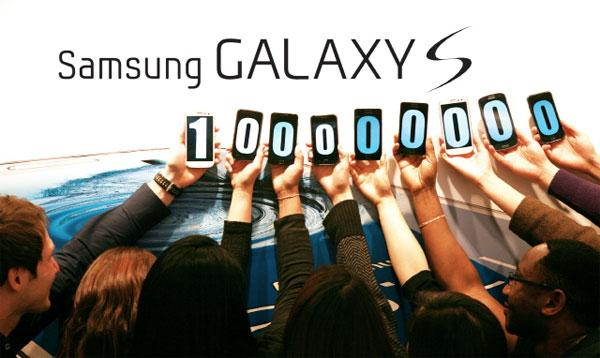Samsung Galaxy S smartphone series ships over 100 million units
