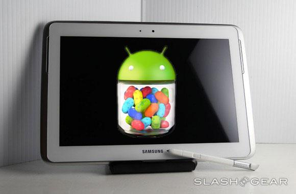 "Samsung Galaxy Note 10.1 and Tab 2 Jelly Bean upgrades bring ""Premium"" delight"
