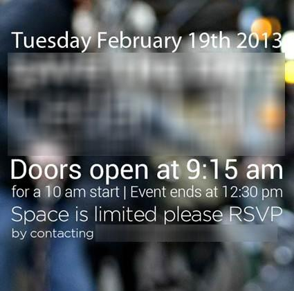 HTC confirms February 19 event: HTC M7 incoming?