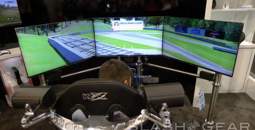 Thrustmaster VRX iMotion racing simulator hands-on