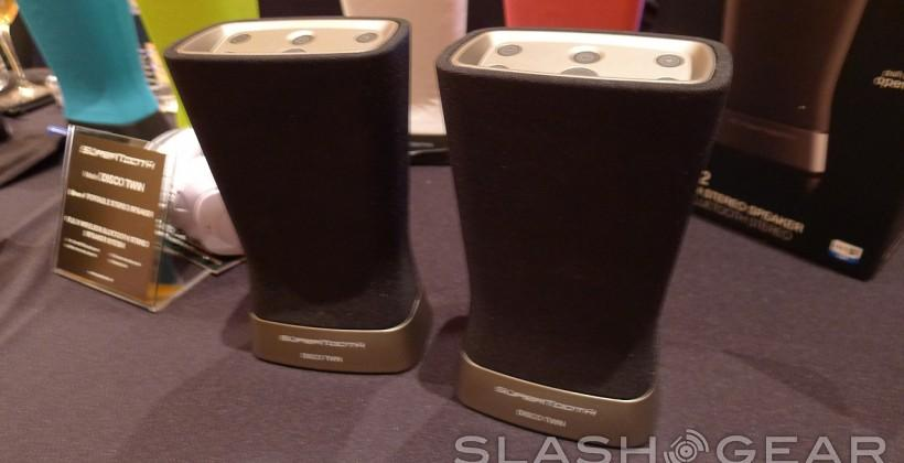 SuperTooth Disco Twin stereo Bluetooth speakers hands-on