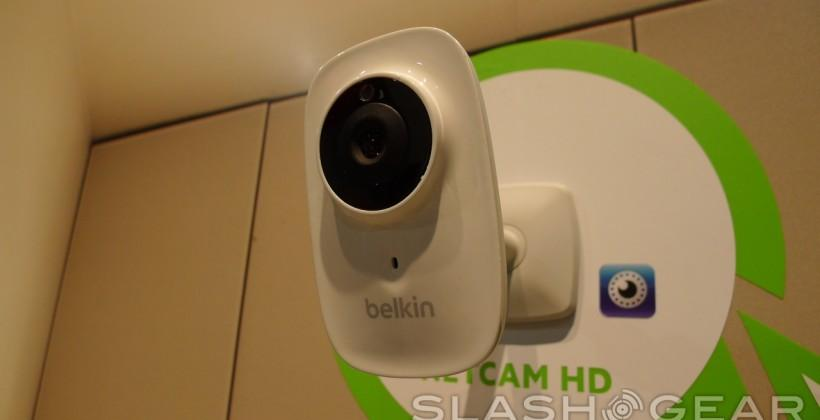 Belkin NetCam HD WiFi camera hands-on