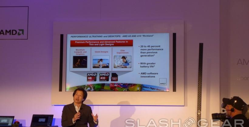 AMD announces Kabini, Kaveri, Richland, and Temash APUs at CES 2013