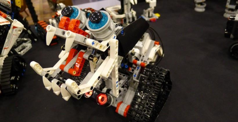 LEGO MINDSTORMS EV3 robots hands-on
