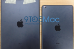 iPad 5 photos appear with Mini aesthetics